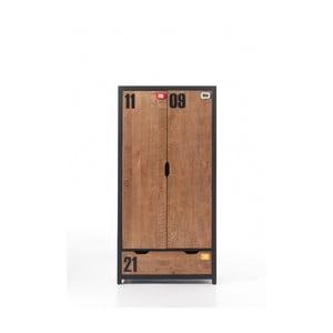 2dveřová šatní skříň Vipack Alex