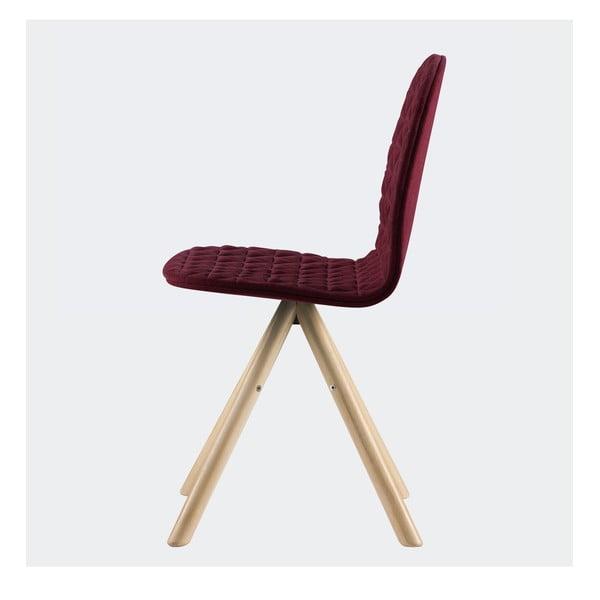 Židle Mannequin, vínová