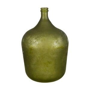 Vază din sticlă Côté Table Chai, verde