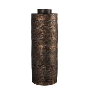 Keramická váza Brasa Black Copper, 37 cm