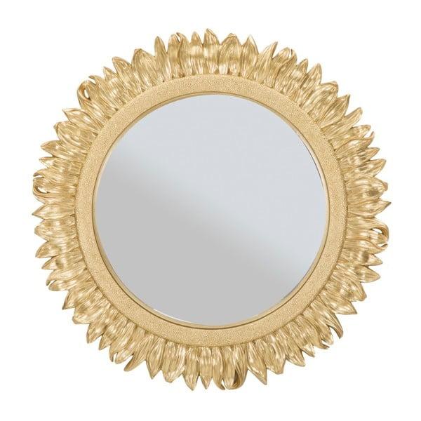 Oglindă de perete cu ramă din fier Mauro Ferretti Glam Petalo, ⌀ 42,5 cm