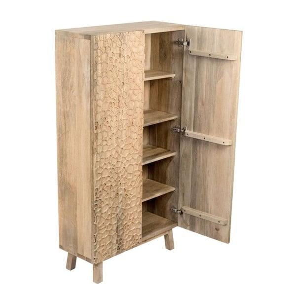 Dvoudveřová šatní skříň z mangového dřeva Støraa Concord