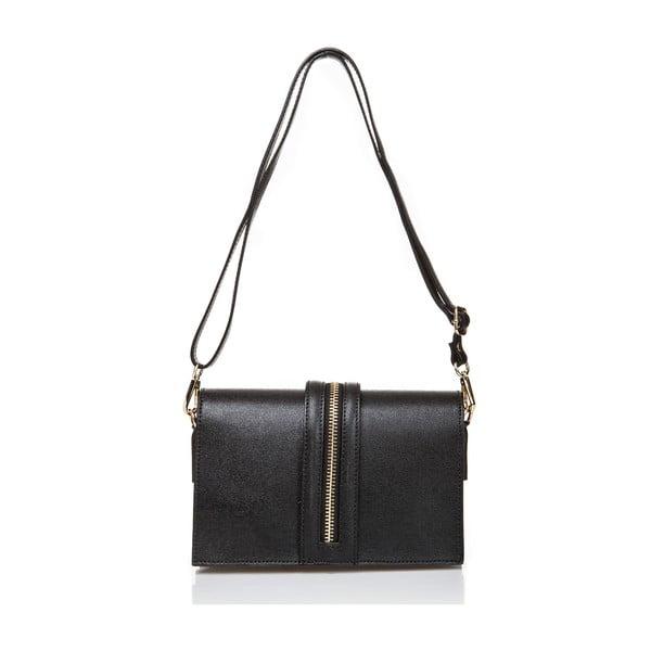 Kožená kabelka Massimo Castelli 5001 Black