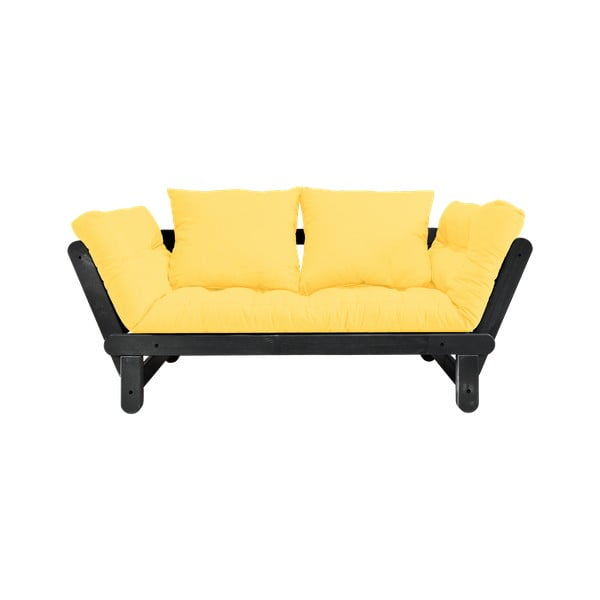 Canapea variabilă Karup Design Beat Black/Yellow