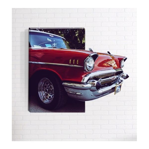 American 3D fali kép, 40 x 60 cm - Mosticx