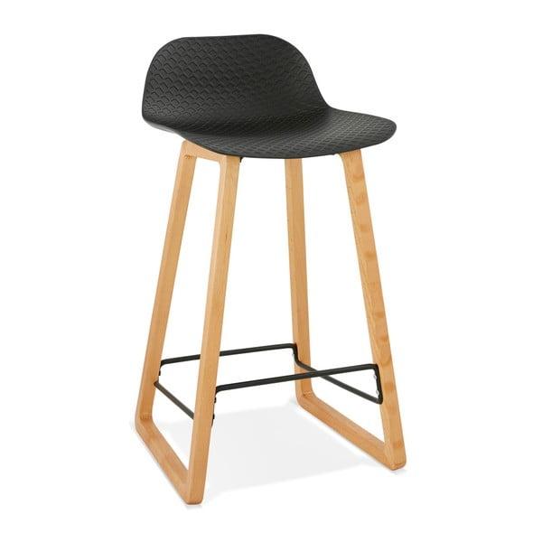 Čierna barová stolička Kokoon Astoria