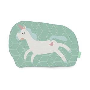 Polštářek z čisté bavlny Happynois Unicorn, 40x30 cm