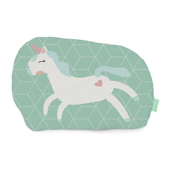 Unicorn kispárna 100% pamutból, 40x30 cm - Happynois