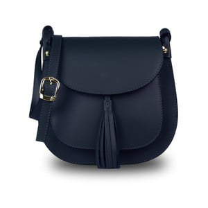 Modrá kabelka z pravé kůže JOHN FISH Cior