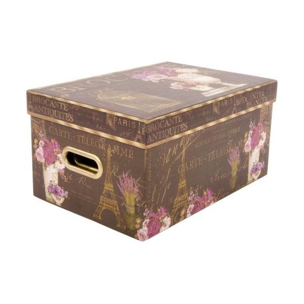 Sada 3 úložných krabic Brocante