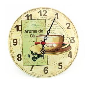 Nástěnné hodiny Aroma de Ca, 30 cm