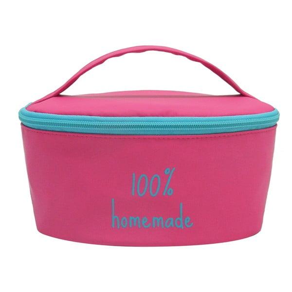 Pouzdro na svačinovou krabičku Bento G.Lunch Pink/Blue