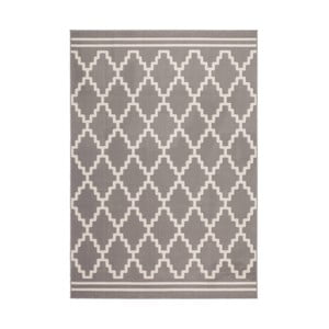 Hnědobílý koberec Kayoom Sentosa Mons,80x150cm