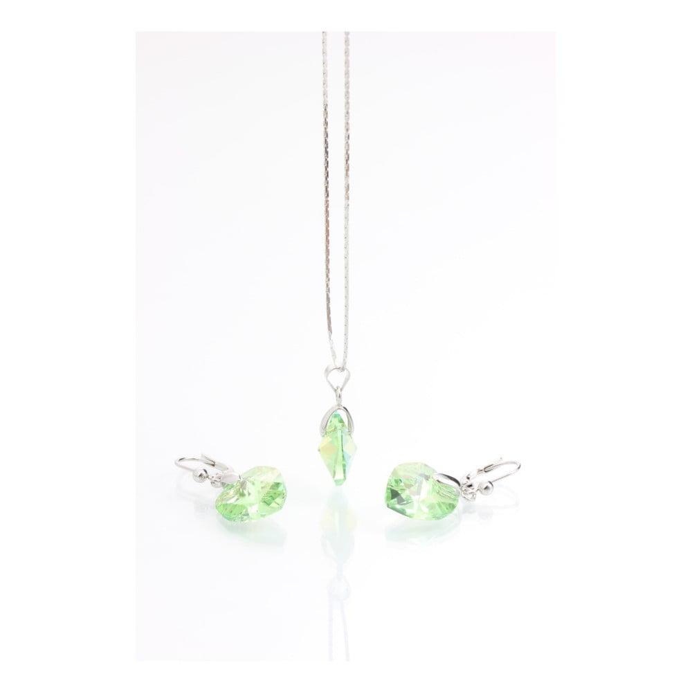 Set náhrdelníku a náušnic se Swarovski Elements Laura Bruni Isabella