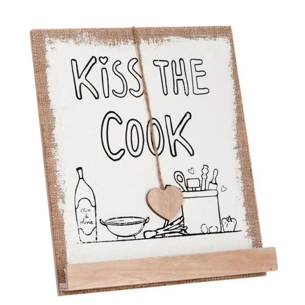Stojan na kuchařku Kiss the cook