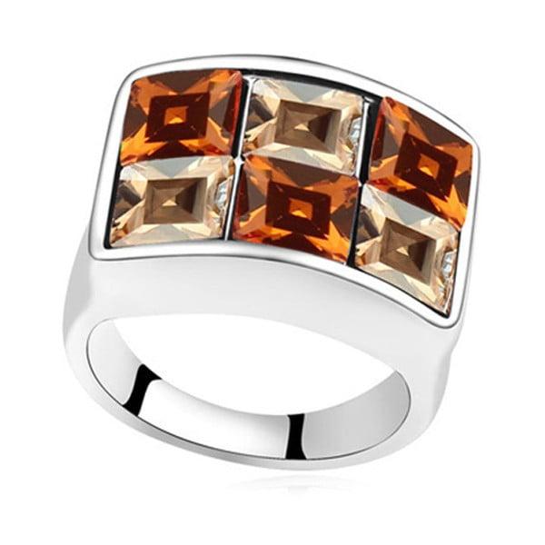 Pierścionek z kryształami Swarovski Elements Crystals Aloys