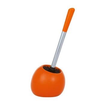 Perie pentru toaletă Wenko Polaris Orange, portocaliu imagine