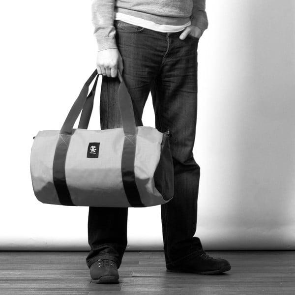 Cestovní taška Dinky Di Duffel M, dull black/dark mouse grey