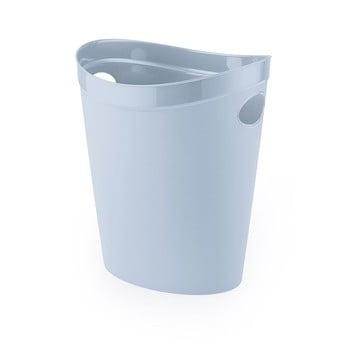 Coș de gunoi din plastic reciclat Addis Eco Range, gri poza