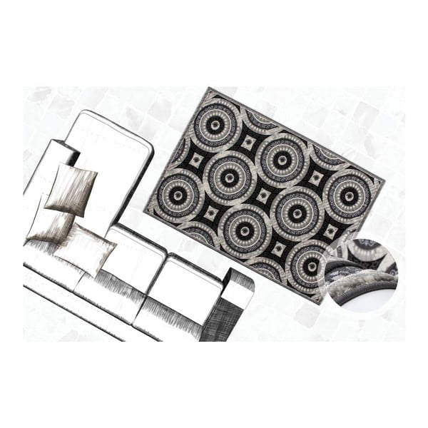 Kobrec Otomi 552 Silver, 160x230 cm
