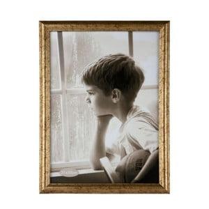 Fotorámeček ve zlaté barvě KJ Collection Vintage, 30x21cm