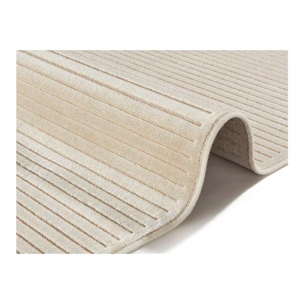 Světle krémový koberec Mint Rugs Shine, 80 x 125 cm