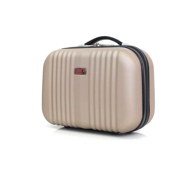 Béžové malé příruční zavazadlo Hero Sebastian,