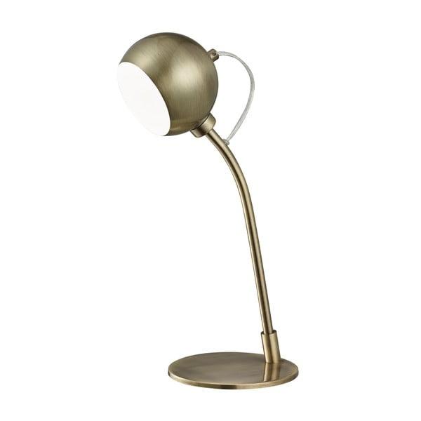Stolní lampa Searchlight Magnetic, patinovaná mosaz