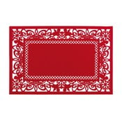 Červené prostírání Clayre & Eef Holy Time, 45 x 30 cm