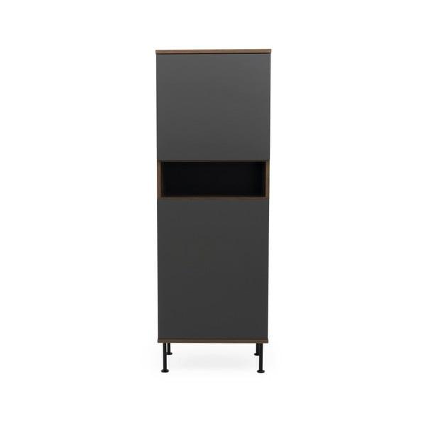 Antracitovosivá skriňa Tenzo Daxx, 56 x 161 cm