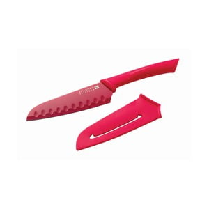 Santoku nůž, 14 cm, karmínový