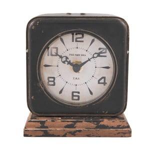 Černé hodiny Clayre&Eef Millie