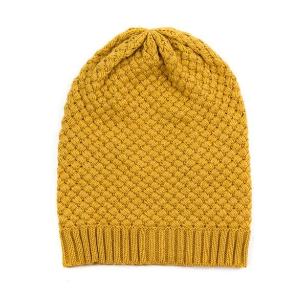 Čepice Beanie Yellow