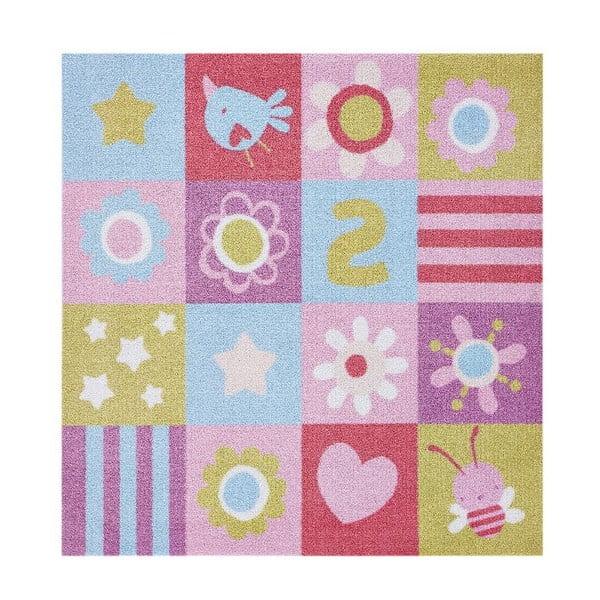 Dětský koberec Hanse Home Kiddy Girly, 100x100cm