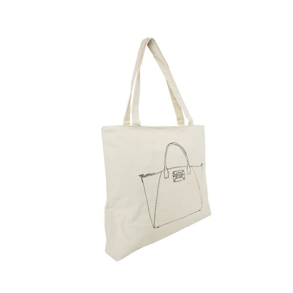 Bílá plátěná taška O My Bag My Bag