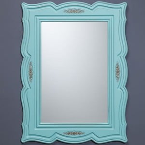 Nástěnné zrcadlo Country Green