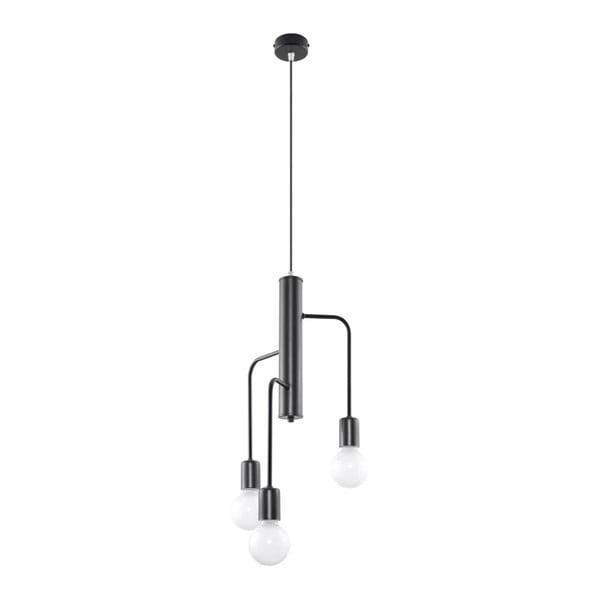 Černé stropní svítidlo Nice Lamps Donato 3M