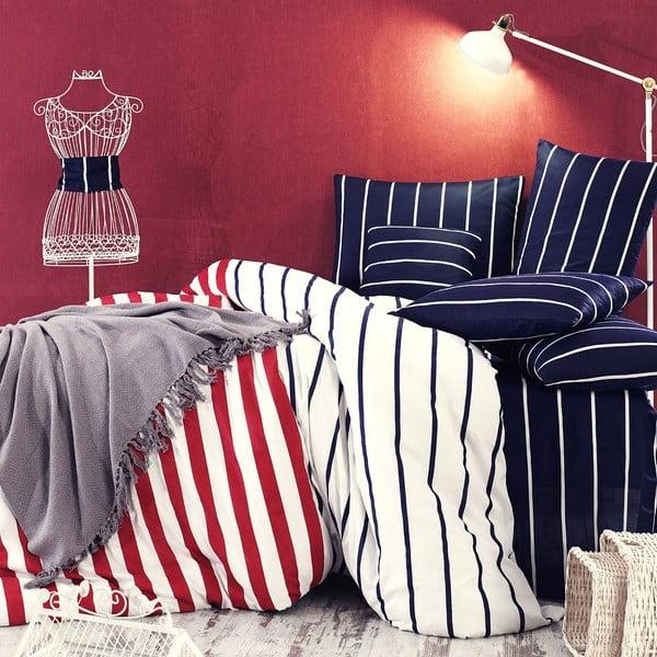 Povlečení s prostěradlem Trendy Stripes, 160x220 cm