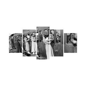 Vícedílný obraz Black&White no. 2, 100x50 cm