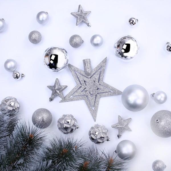 Zestaw 100 ozdób świątecznych DecoKing Star