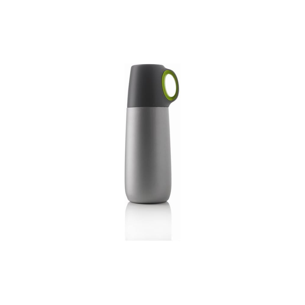 Zelená termoska s hrníčkem XD Design Bopp, 600 ml