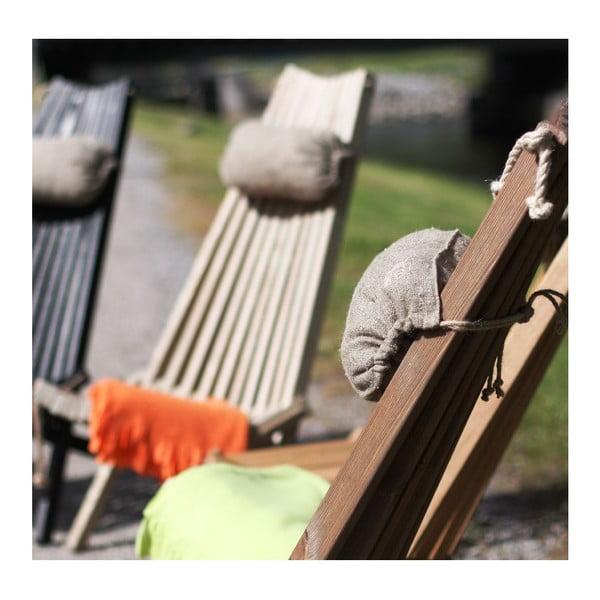 Ekologické lehátko ze dřeva hnědého jasanu EcoFurn EcoChair