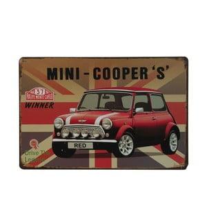 Cedule Mini Cooper, 20x30 cm