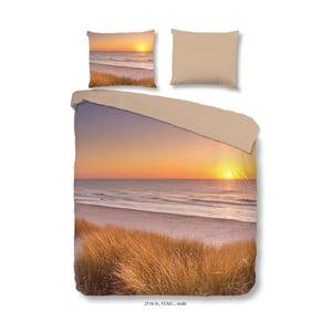 Povlečení na dvoulůžko z mikroperkálu Muller Textiels Sunset, 240 x 200 cm