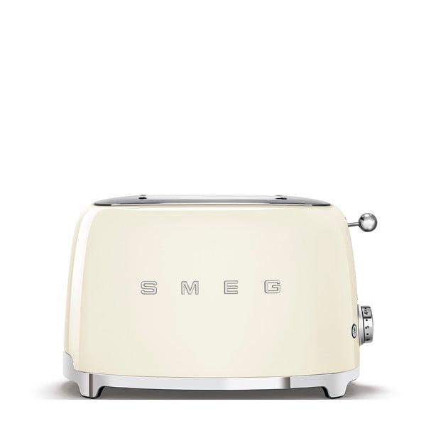 Krémově bílý toustovač SMEG