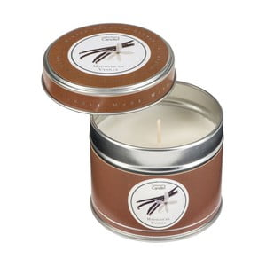 Aroma svíčka v plechovce s vůní vanilky Copenhagen Candles  Madagascan, doba hoření 32 hodin