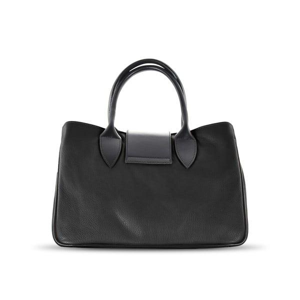Kožená kabelka Sophie, černá