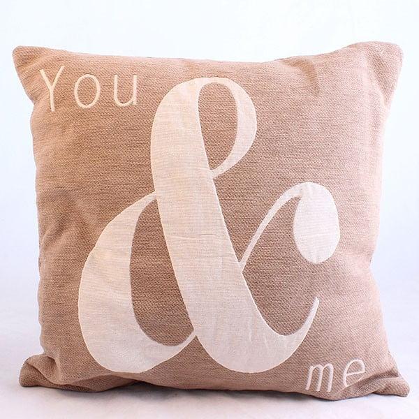 Návlek na polštář You & Me, 40x40 cm