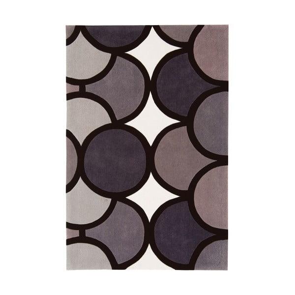 Koberec Asiatic Carpets Harlequin Bubble Grey, 120x180 cm