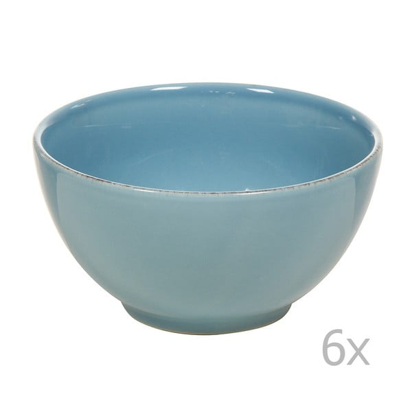 Set 6 boluri din ceramică Santiago Pons, ⌀ 14 cm, albastru